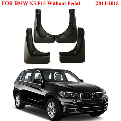 Set of 4 Front and Rear Mud Flaps Splash Guard for 2014-2018 BMW X5 F15 Series