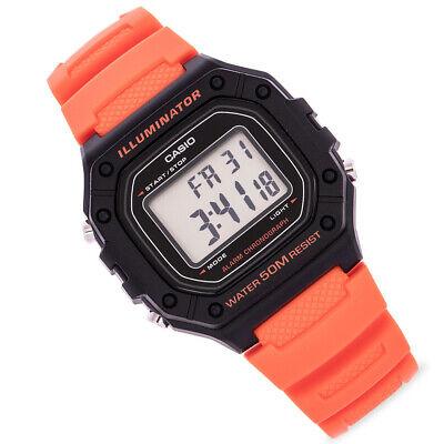 CASIO Unisex Digital Watch CASIO Collection W-218H-4B2VEF Collection Digital Unisex Watch