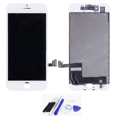 Display LCD für iPhone 7 mit RETINA Glas Scheibe Bildschirm Front Weiß +Werkzeug