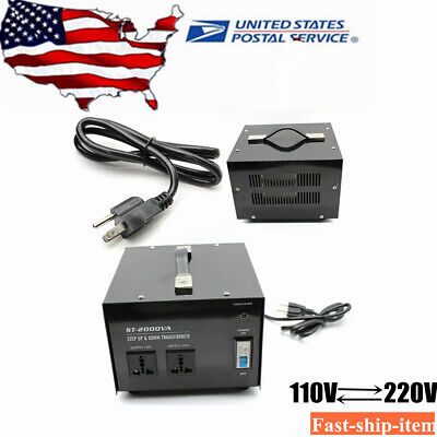 1500 Watt Step Up Down 110v To 220v 220v To 110v Voltage Converter Transformer