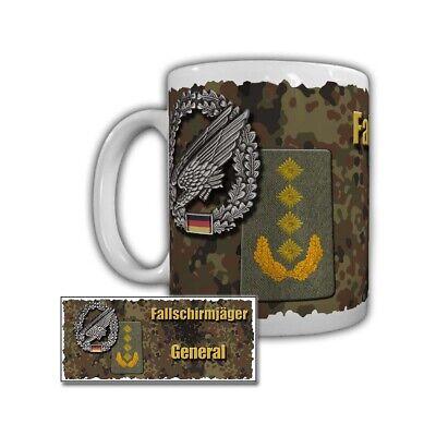 Tasse Fallschirmjäger General Becher Mug Tee Coffee Cup Kaffee Keramik #29488 Mug Fall