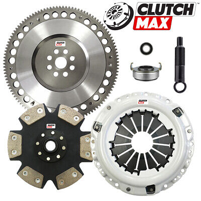 CLUTCHMAX STAGE 5 CLUTCH KIT+CHROMOLY FLYWHEEL FOR ACURA HONDA B16 B18 B20 HYDRO - Flywheel 1996 Integra