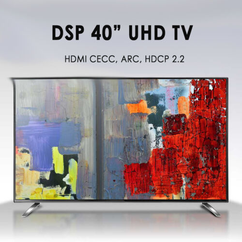 "New Display Park 40"" DSPS402UL UHD TV HDMI 60Hz 4K 3840x2160 LED TV Monitor"