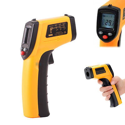 Digital Handheld Temperature Heat Gun Sensor Laser Infrared Ir Thermometer