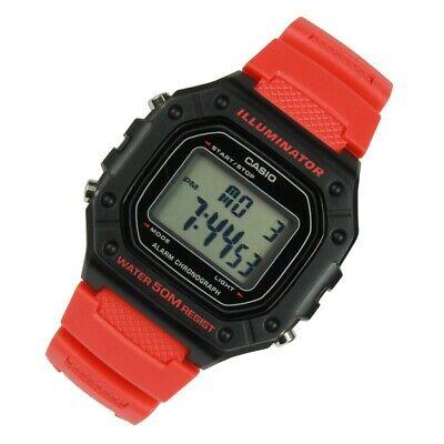 CASIO Unisex Digital Watch CASIO Collection W-218H-4B Collection Digital Unisex Watch