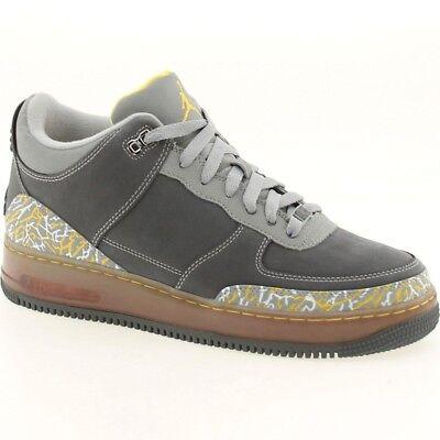 323626-071 $150 nike Air Jordan 3 III AJF Force 1 Fusion flint grey shoes