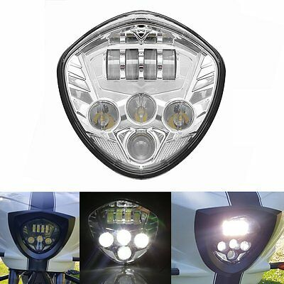 VICTORY MOTORCYCLES CHROME LED HEADLIGHT 2010-2016 CROSS MODELS, 10-16 CRUISERS