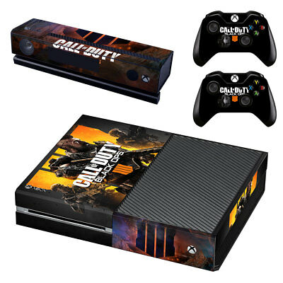 Xbox ONE Skin Sticker Vinyl for Console & 2 Controllers Call of Duty Black Ops