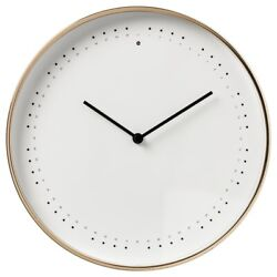 IKEA PANORERA Wall clock, 9 ½  With Night Light