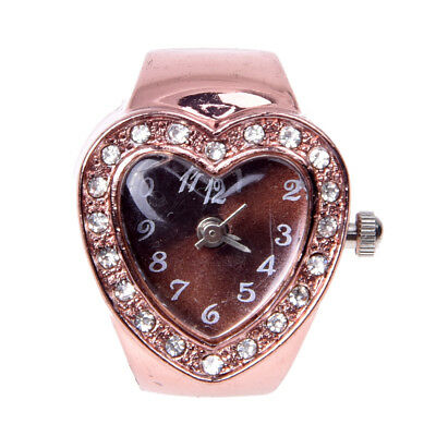 20 mm Ring Watch Finger Watch Ring Rose Gold Z7B4