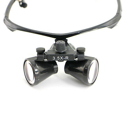 Usa Dental Loupes Ultra-light 3.5x Binocular Surgical Loupes Headlight Cv-287