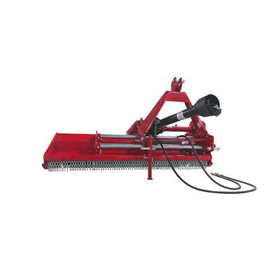 Titan Attachments 3-point Flail Mower With Hydraulic Side Shift 60 Cat 1