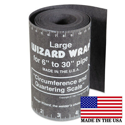 Flange Wizard Ww-17a Large Wrap 120 Long X 5-14 Wide Pipe 6 To 30 Diameter