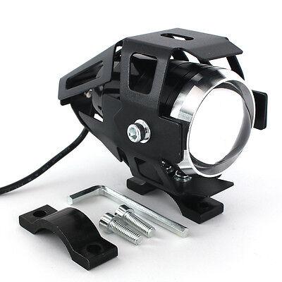 125W Cree LED Motorcycle Headlight E-bike U5 Spot Light Driving Fog Lamp Light