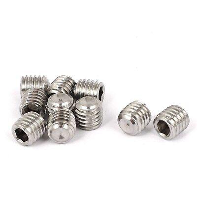 10 Pcs M3 x 3mm Set Screw Grub Screw Hex Socket - 3mm x 3mm x 0.5mm Pitch - SS