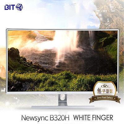 """BitM - New 32"""" B320H Whitefinger 60HZ FHD LED 1920 x 1080 Full HD Monitor"""