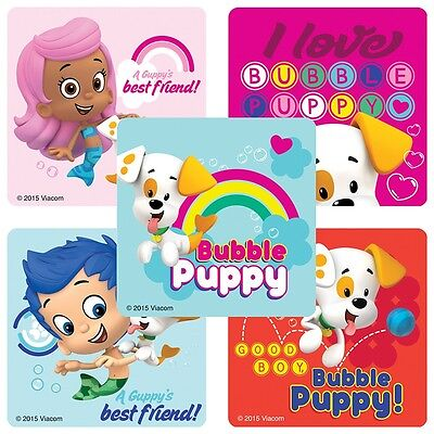 Bubble Guppies Stickers x 5 - Birthday Party Favours - Bubble Guppies Loot Ideas