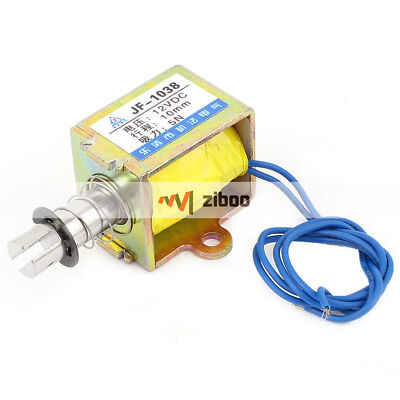 Dc12v 10mm 5n Open Frame Linear Motion Pull Type Solenoid Electromagnet Actuator