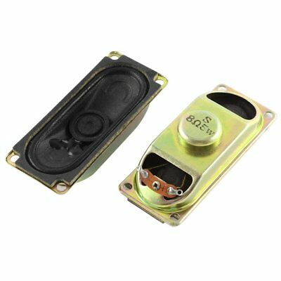 2pcs Oval Shape Micro Speaker 30mmx70mm 8 Ohm 8R 5W speakers