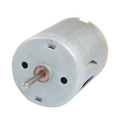 8000rpm 9v 68ma High Torque Magnetic Cylindrical Mini Dc Motor Silver Ts