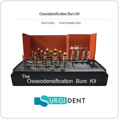 Dental Bur Drills Dental Implant Kit Surgical 13 Pcs With 4 Parallel Pins