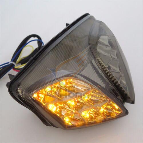 For 2008-2013 Suzuki GSXR 600 GSX-R600 750 GSX-R750 Clear LED Tail Brake Light