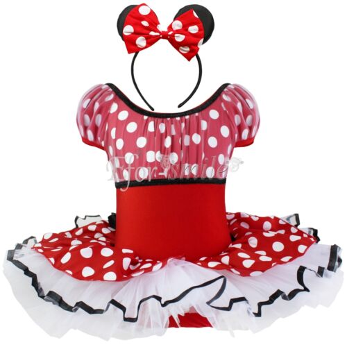 baby kinder m dchen kleid minnie mouse kost m halloween. Black Bedroom Furniture Sets. Home Design Ideas
