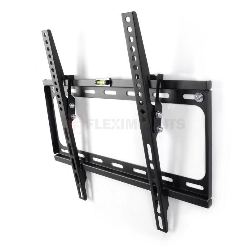 "Tilt Slim TV Wall Mount Bracket for 26 32 39 40 42"" 50"" 55"" inch Flat Screen"