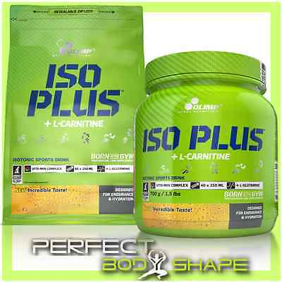 OLIMP NUTRITION ISO PLUS ISOTONIC SPORT DRINK + L-CARNITINE POWDER HYDRATION
