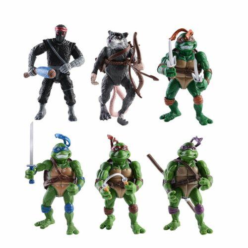 Neu TMNT Teenage Mutant Ninja Turtles Lot 6 Action Figur Figuren