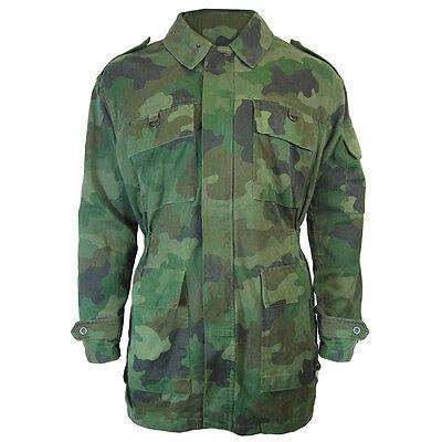 Serbian Camouflage Parka - Surplus Jacket Coat Outwear Military Army Oakleaf