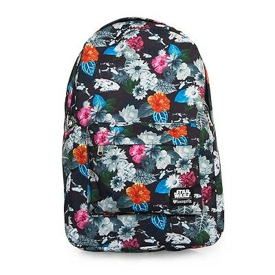 NWT Loungefly Star Wars Floral All Over Print Backpack