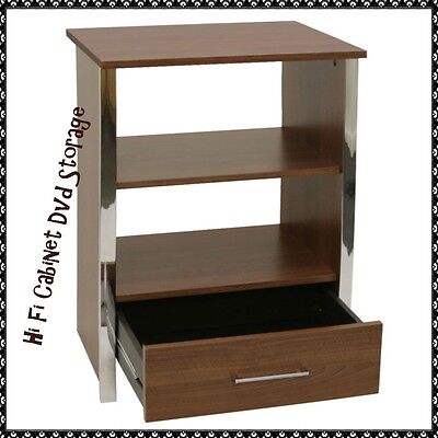 Hi fi stand entertainment unit living room cabinet cupboard home furniture new