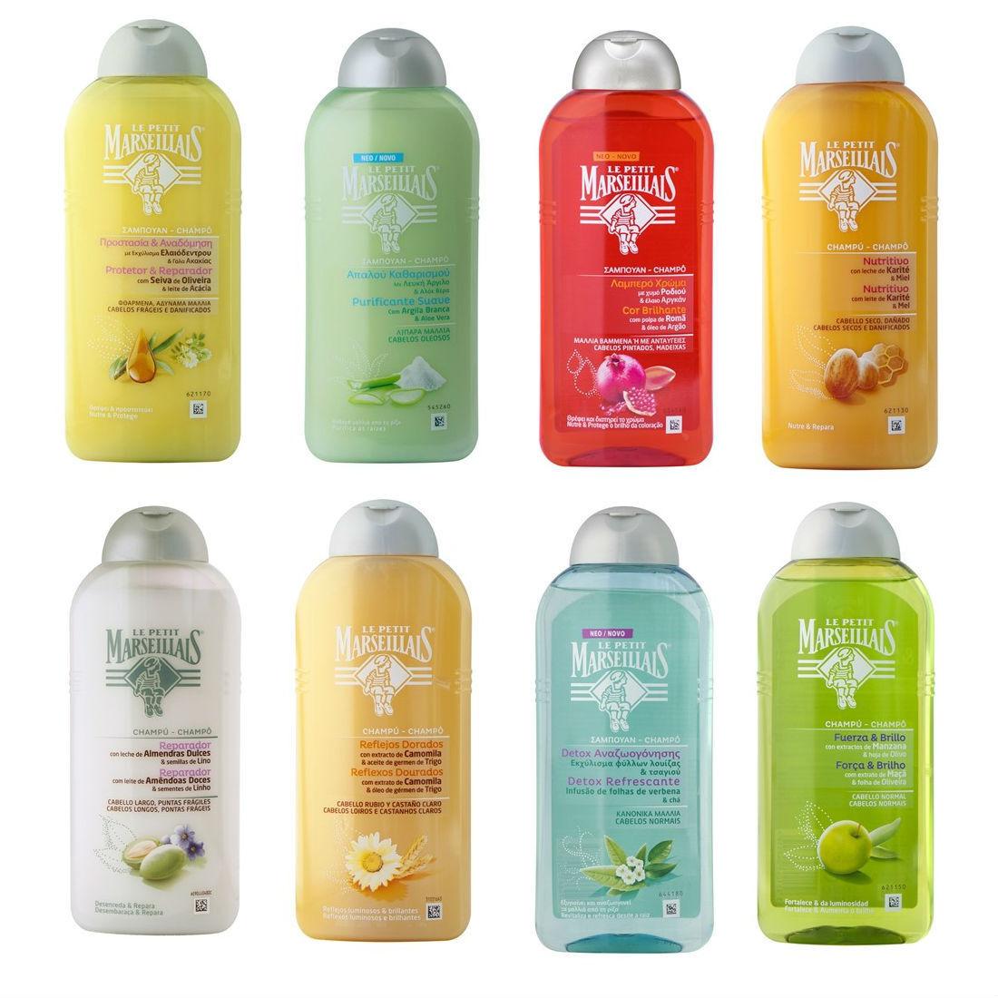 Le Petit Marseillais Shampoo 300ml 10.1 oz Premium French Ha