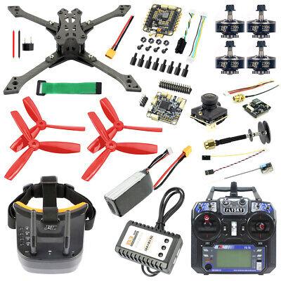 Full Set With FPV Goggles JMT 220 DIY Racing Drone BS430 30A ESC NEW