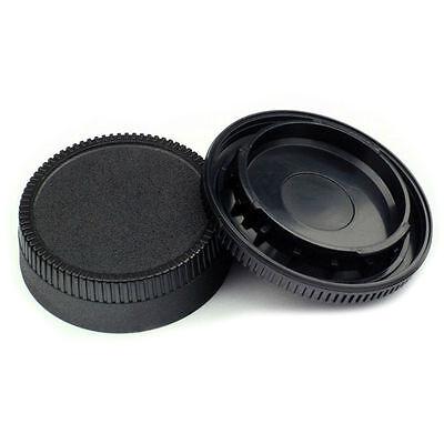 1 X NIKON REAR LENS CAP + 1 X NIKON CAMERA  BODY CAP Ai Ais A/F-D A/F-S UK stock