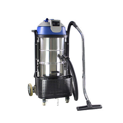 Vi 110v 3000w Stainless Steel Vac Industrial Grade Vacuum Cleaner Wet Dry 90l