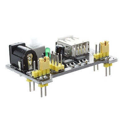 New 3.3v 5v Breadboard Power Supply Module For Mb102 Solderless Breadboard Ad