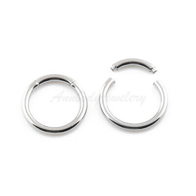 1pc16G 14G Surgical Steel Segment Captive Bead Ring Septum Nipple Lip Ear Tragus 14g Captive Bead Ring