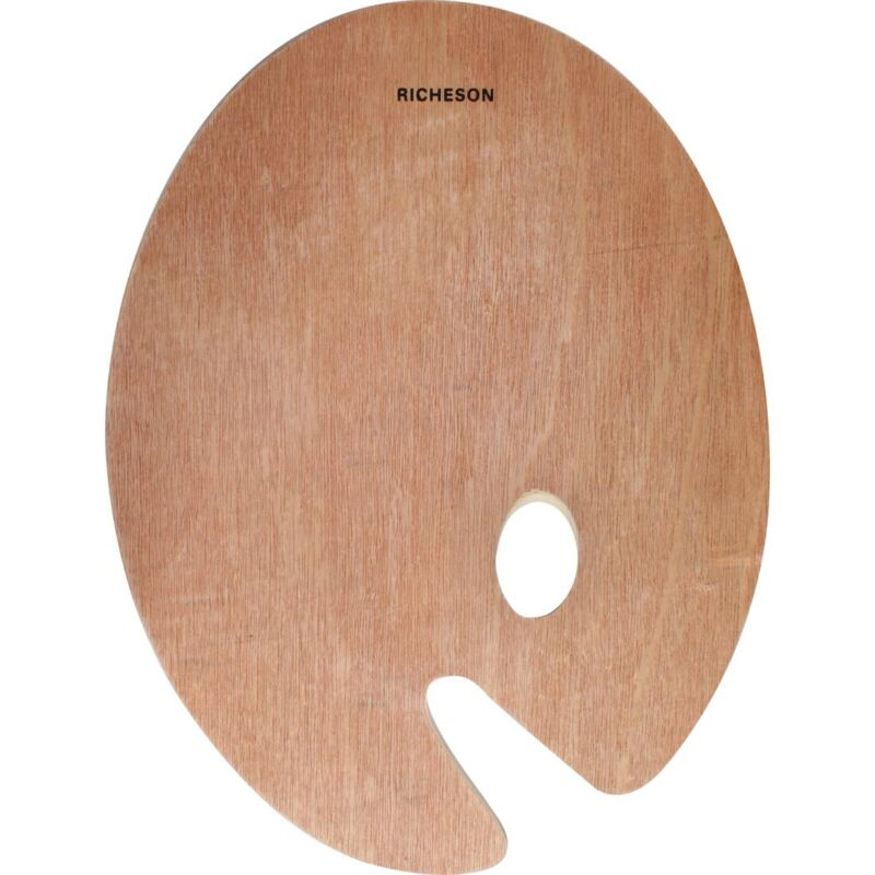 """Richeson Oval Wood Palettes - 12x16""""  - 12X16"""""""