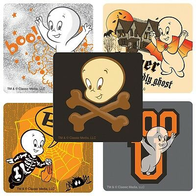 25 Casper The Friendly Ghost Stickers, Assorted 2.5