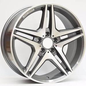 Mercedes wheels 17x8 Titanium Grey Machined M633 Murrumbeena Glen Eira Area Preview