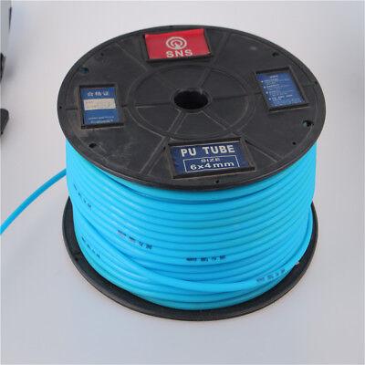1m Polyurethane Pu Air Compresser Pneumatic Pipe Tube Hose Air 64mm Light Blue