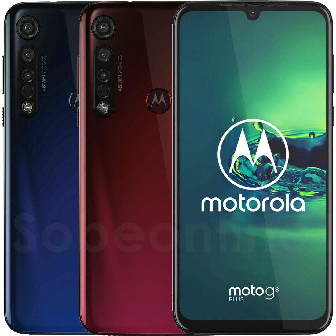 Motorola Moto G8 Plus 64GB 4GB RAM XT2019-2 Dual Sim (FACTORY UNLOCKED) 6.3