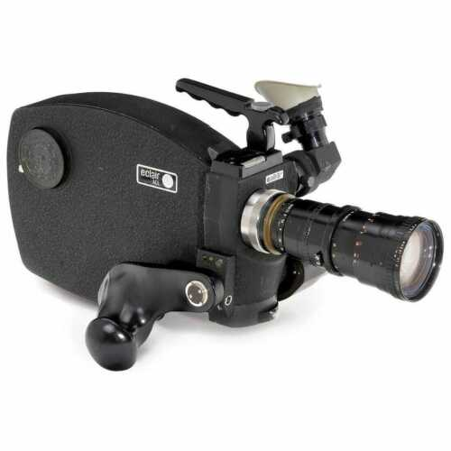 Eclair ACL 16mm Camera, w/12-120mm Angenieux Zoom,Magazine, Charger & Battery
