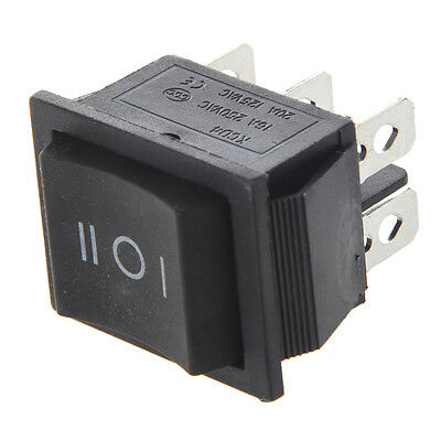 6-terminals 3position Onoffon Dpdt Boat Rocker Switch 16a 250vac 20a 125vac Dt