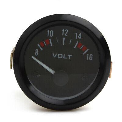 2 Inch 52mm Led 8-16v Mechanical Car Auto Volt Voltmeter Voltage Gauge Meter