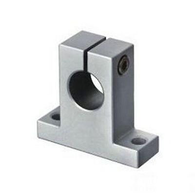 10pcs 8mm Sk8 Chrome Linear Rail Shaft Guide Support Bracket Bearing Step Motor