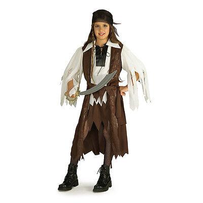 CARIBBEAN PIRATE QUEEN Child Costume Rubies 881093](Queen Costume Child)
