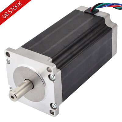 Nema 23 Stepper Motor Bipolar 3nm425oz.in 3.5a 114mm Length 4 Wires Cnc Router